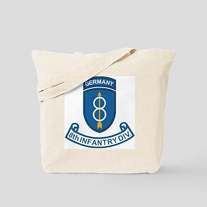 Army-8th-Infantry-Div-6-Bonnie Tote Bag