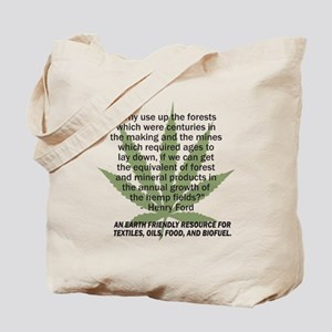 hemp4victorybackblk Tote Bag