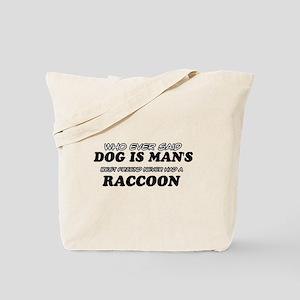 Raccoon designs Tote Bag