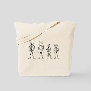 Super Family 2 Boys Tote Bag