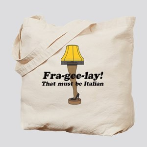 fragelee-Leg_Lamp Tote Bag