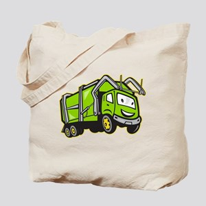 Rubbish Truck Tote Bag
