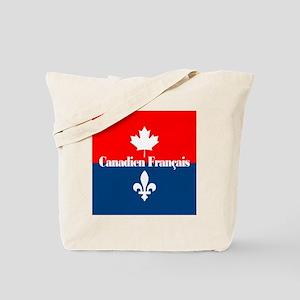 Canadien Francais (sq) Tote Bag