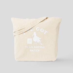 TEAM ROPING Tote Bag