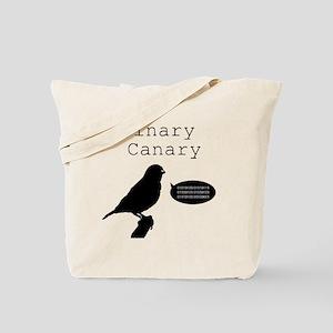 binarycanary Tote Bag