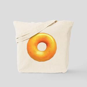 glazed donut Tote Bag
