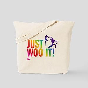 JUST WOO IT! Tote Bag