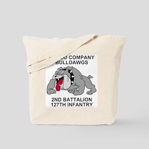ARNG-127th-Infantry-B-Co-Shirt-7 Tote Bag