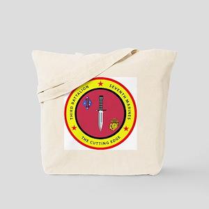 SSI-7TH MARINE RGT-3RD BN Tote Bag