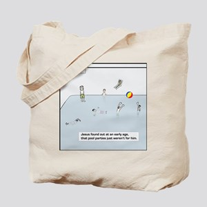 pool party tile Tote Bag