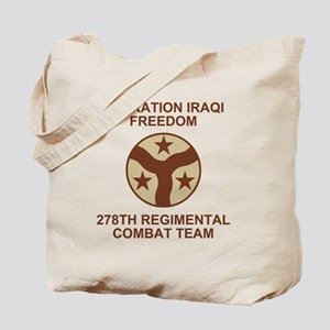 ARNG-278th-RCT-Iraqi-Freedom-Subdued Tote Bag