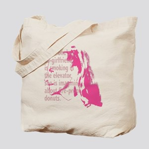 wt_tt_ex-girl Tote Bag