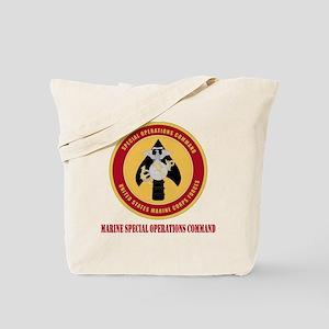 MarineSpecialOperationsCommandwithT Tote Bag