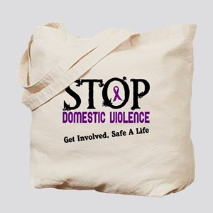 Stop Domestic Violence 2 Tote Bag
