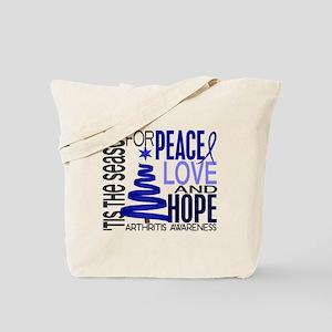 Christmas 1 Arthritis Tote Bag