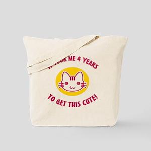 BdayCute4 Tote Bag