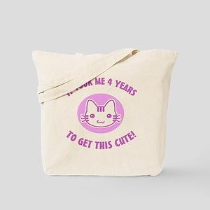 BdayCutePink4 Tote Bag