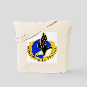 Army-101st-Airborne-Div-DUI-Bonnie Tote Bag