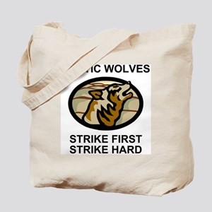 Army-172nd-Stryker-Bde-Arctic-Wolves-2-Bo Tote Bag