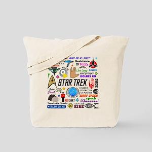 Trekkie Memories Tote Bag