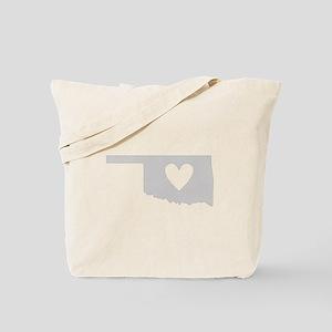 Heart Oklahoma Tote Bag