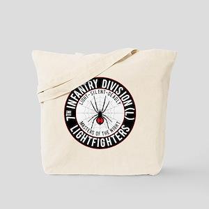 2012 Black Widow Design Tote Bag