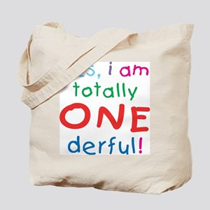 Onederful 1st Birthday First Tote Bag
