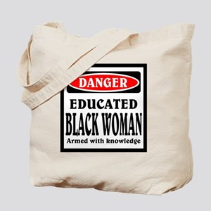 Educated Black Woman Tote Bag