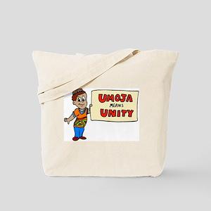 Umoja means Unity - Kwanzaa Tote Bag