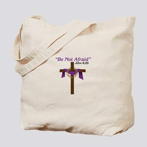 Be Not Afraid John 6:20 Tote Bag