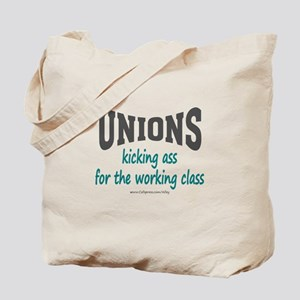 Unions Kicking Ass Tote Bag