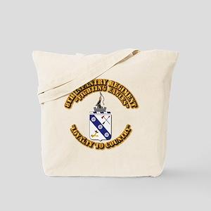COA - 8th Infantry Regiment Tote Bag