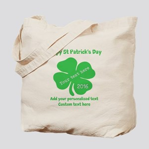 St Patricks Day Personalized Tote Bag