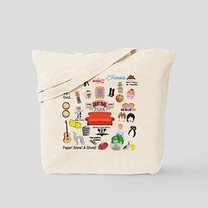 friendstv Collage Tote Bag