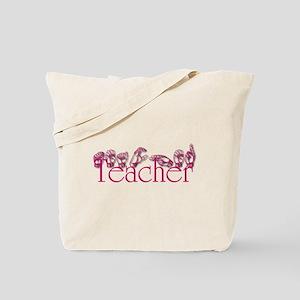 Teacher-pnk Tote Bag