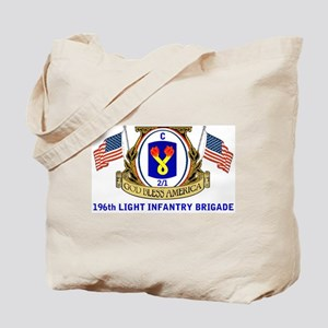 C 2/1 196th INFANTRY Tote Bag