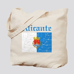 Alicante flag designs Tote Bag