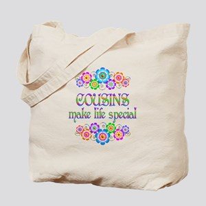 Cousins Make Life Special Tote Bag