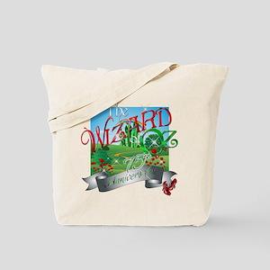 75th Anniversary Wizard of Oz Movie Poppies Tote B
