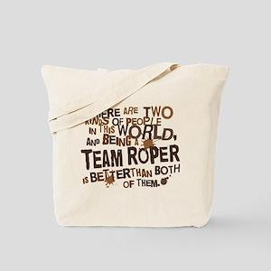 Team Roper (Funny) Gift Tote Bag