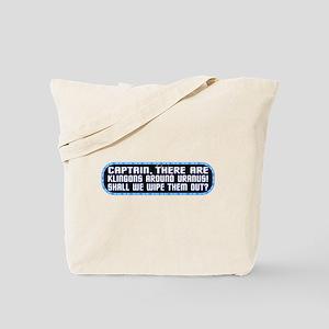 ST: Klingons Tote Bag