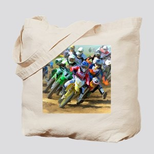 Motocross Tote Bag