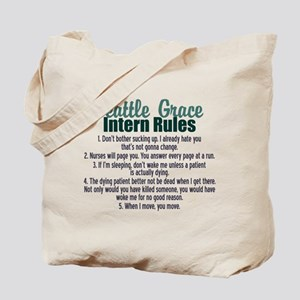 Dr. Bailey's Rules Tote Bag