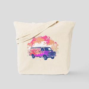 Retro Hippie Van Grunge Style Tote Bag