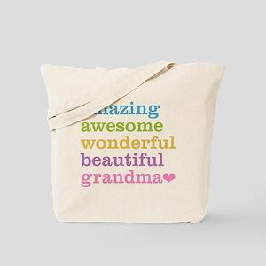 Amazing Grandma Tote Bag