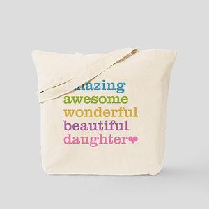 Amazing Daughter Tote Bag