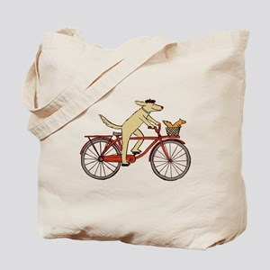 """Dog and Squirrel"" Tote Bag"