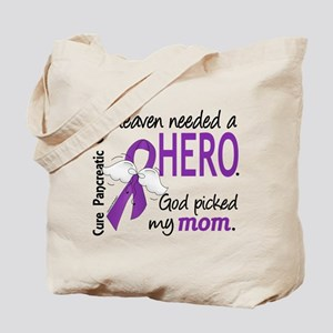 Pancreatic Cancer Heaven Needed Hero 1.1 Tote Bag