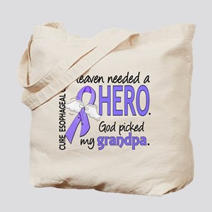 Esophageal Cancer HeavenNeededHero1 Tote Bag