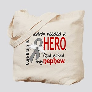 Brain Tumor HeavenNeededHero1 Tote Bag